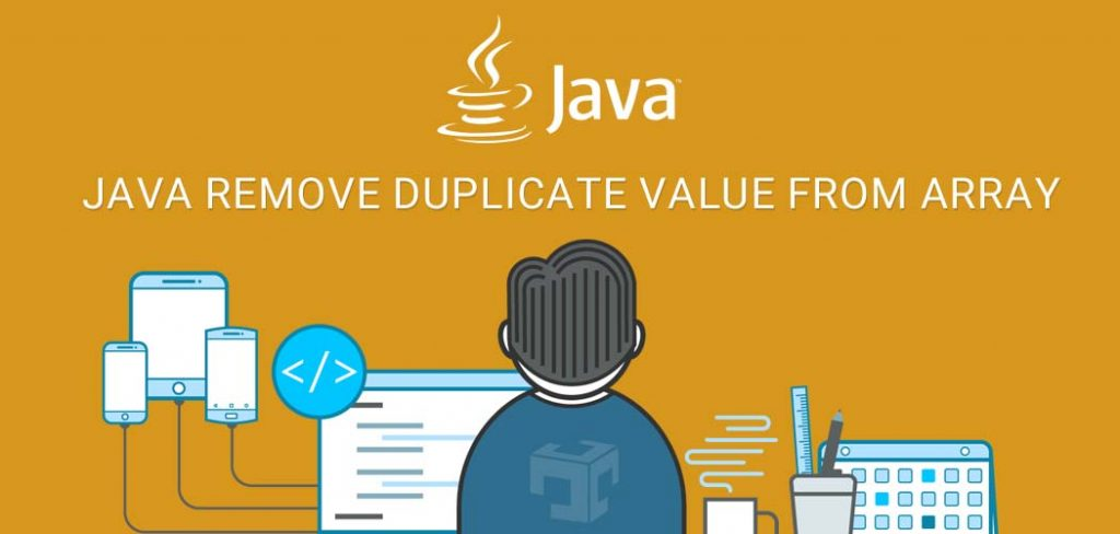 JAVA remove duplicate value from array