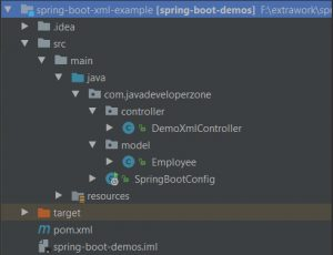Spring boot rest xml example