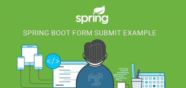 spring boot form submit example