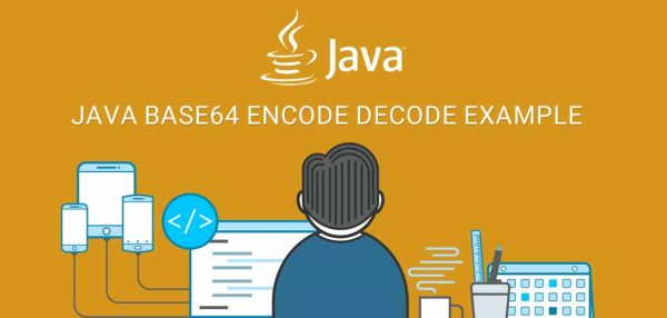 Java Base64 encode decode example
