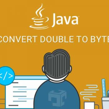 java convert double to byte array