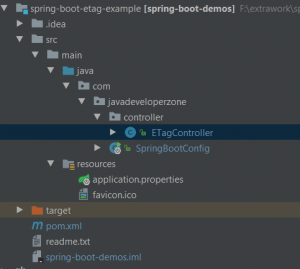 spring boot etag header example