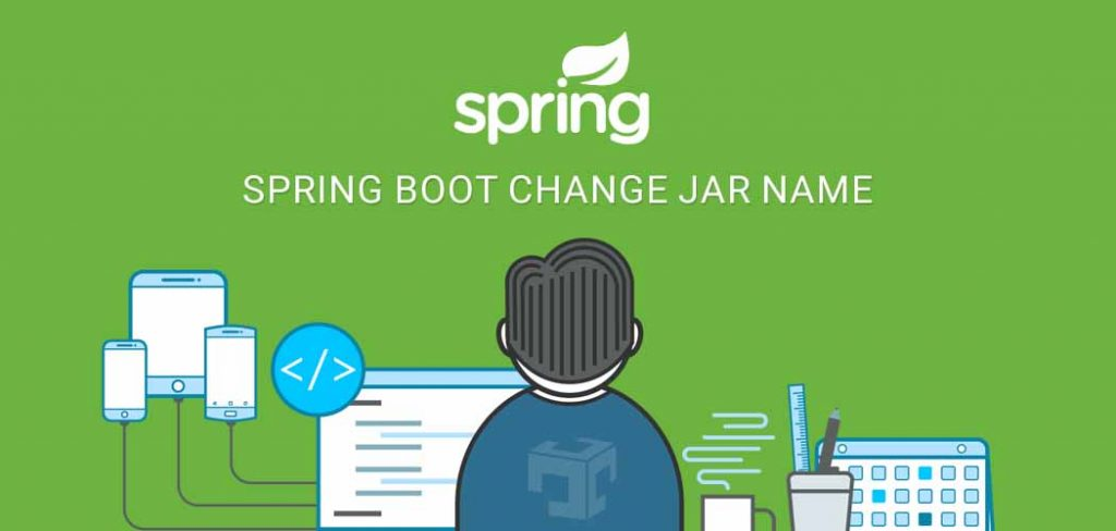 Spring boot change jar name