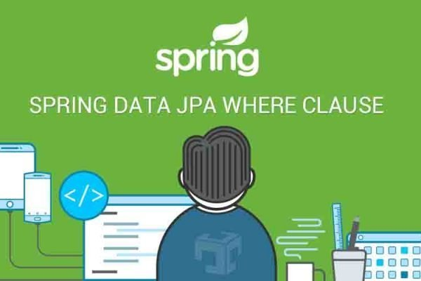 spring data JPA where clause
